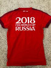 Fifa World Cup Russia 2018 Womens Shirt Collectible Adidas T-shirt Soccer Fan