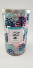 YANKEE CANDLE PINK SANDS 1 WICK 12 OZ CANDLE