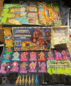 Masters Of The Universe Battle For Eternia Board Game -  Nice Condition!