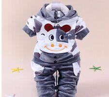 Bébé Garçon Enfants Pull Pantalons Jogging Cadeau Naissance Vache Animal Fille