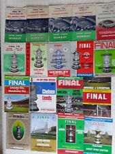 More details for fa  cup final programmes 1954 to 1969 ~ you choose which year ~ free postage