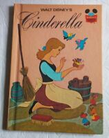 Walt Disney's Cinderella Hardcover Book Published 1974 Random House New York