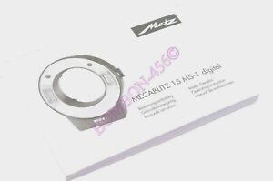 INSTRUCTION MANUAL FOR METZ MECABLITZ 15 MS-1 MACRO RING LIGHT DIGITAL FLASH.