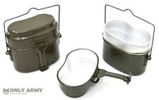 NEW German Army Mess Tin Set Cooking Set Cook Set Camping (Similar To Trangia)