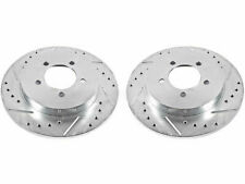 For 2007-2010 Ford Explorer Sport Trac Brake Rotor Set Rear Power Stop 56142YG