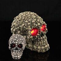 Ghost Whisper Lost Souls Skull Statue Skeleton Graveyard Of Craniums Figurine