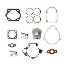 Piston&2xPin Clips Wrist&Gasket Set Fit 80cc Motorised Bicycle Push Bike Motor