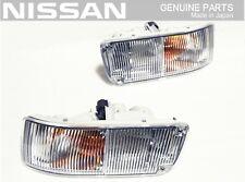 NISSAN GENUINE FAIRLADY Z32 300ZX Front Turn Corner Signal Light Lamp Set JDM