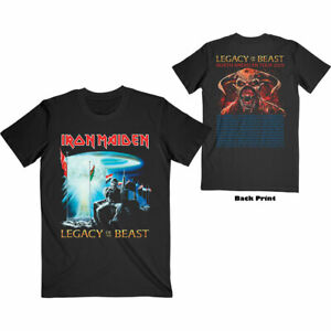 IRON MAIDEN 2 Minutes To Midnight Tour NA 2019 T-SHIRT New OFFICIAL Unisex