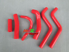 For Honda CR250R CR 250 R 2-stroke 1988-1991 silicone radiator hose red