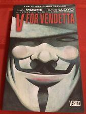 V For Vendetta Alan Moore David Lloyd Vertigo Trade Paperback