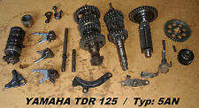 Yamaha TDR 125_Typ: 5AN_Getriebe_Wellen_Zahnräder_Schaltgabel_transmission_gear