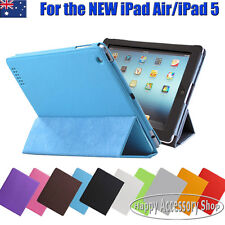 Premium Leather Case Folder Cover for Apple the New iPad Air