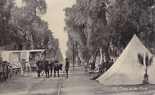 Ontario, CA - Camp on the Park and Euclid Ave, Oregon Trail Monument Exposition