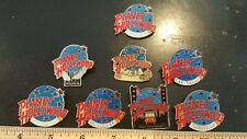 (8) PLANET HOLLYWOOD PINS HONOLULU LAS VEGAS NASHVILLE SAN FRANCISCO