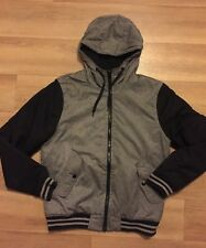 H&M Mens' Hooded Jacket Outerwear Size S With Inside pocket In Great Condition