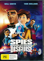 Spies In Disguise DVD NEW Region 4 WIll Smith Tom Holland