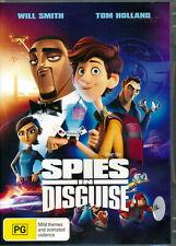 Spies in Disguise DVD R4 & Disney 2019