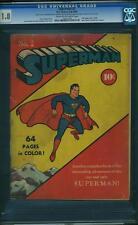 Superman #2 CGC 1.8 DC 1939 Hard to find! JLA! Follows Action D12 112 1 cm
