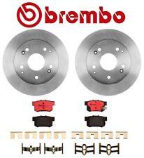 For Honda Accord '98-'02 3.0L V6 Rear Brake Kit Disc Rotors Ceramic Pads Brembo