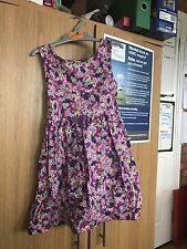 girls cotton dress age 5-6