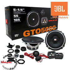 "JBL GTO508c - 13cm 5.25"" Car Component Speakers 165 Watts 2 Way Speakers"