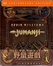 Jumanji Limited Edition Embossed w/SlipCover SteelBook (Region Free Taiwan Imp.)