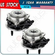 Set Front Wheel Bearings & Hub Assembly For Ford Ranger 00-09 Mazda B4000 4X4