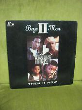 Boyz II Men Then II Now - Laserdisc 1994