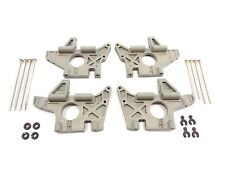 NEW TRAXXAS T-MAXX 3.3 4907 COMPLETE BULKHEAD SET FRONT & REAR WITH PINS .15 2.5