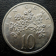 """JAMAICA 1969 10 CENT """"FLOWERS""""  UNCIRCULATED CANADA SHIP $1.99 US"""