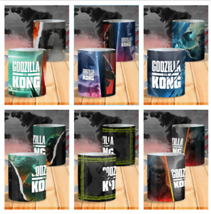 Godzilla Vs Kong Godzilla Coffee Mug Funny Coffee Cup Gift For Men Women NEW!