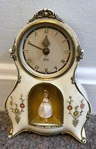 PETER Musical Alarm Clock Dancing Ballerina Plays Wiener Blut Vintage (AS-IS)