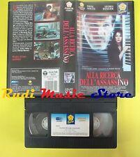 film VHS ALLA RICERCA DELL'ASSASSINO 1990 PENTA VIDEO PEPITE 1008102(F20) no dvd