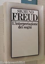 L INTERPRETAZIONE DEI SOGNI Sigmund Freud Mondolibri Filosofia Psicologia di e