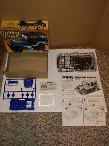 Vintage 1980's 1981 MPC Golden Eagle Jeep CJ-7 1/32 Model Kit,1-3226,Complete