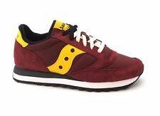 Saucony S2044-415 Jazz Original Rosso Giallo Scarpe Uomo Sneakers Lacci 44
