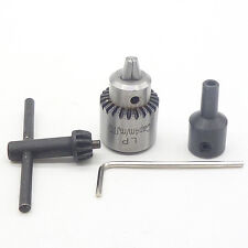 Mini Drill Chuck Clamping Range 0.3mm-4mm + 5MM Clamp Connection Shaft & Wrench