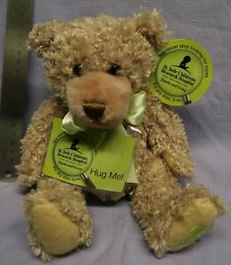 """HUG ME BEAR 10"""" Plush STUFFED ANIMAL Toy NEW. TAG. NO. G377"""
