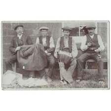 More details for montrose bothy men, mains of logie, montrose rp postcard, unposted