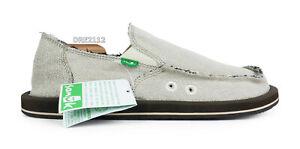 Sanuk Hemp Natural Shoes Mens Size 9 *NEW*