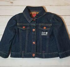 Baby Girl 18M Apple Bottoms Denim Snap Front Jean Jacket