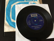 "Three People - Suspicions (In Your Mind) / Easy Man To Find U.K. 7"" 1966 Decca"