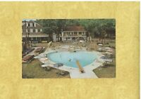 VA Fredericksburg 1950-60s era vintage postcard BROWNS MOTEL US ROUTE 1 Virginia