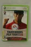 Tiger Woods PGA Tour 06 (Microsoft Xbox 360, 2005) Complete