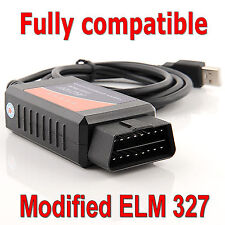 Fiat Alfa Lancia compatible diagnostic ELM 327 OBD2 interface for Multiecuscan