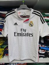 Maillot REAL MADRID camiseta ADIDAS football enfant shirt domicile 11 12 ans 152