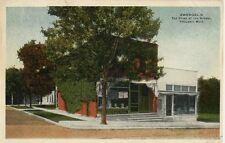 1946 Postcard - Zwergel's - The Store at The Normal - Ypsilanti Michigan