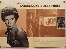 L'ASSASSINO E' ALLA PORTA di Val Guest HAMMER FILM fotobusta 1960