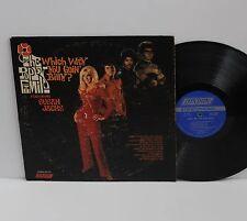 THE POPPY FAMILY SUSAN JACKS 1969 ORIGINAL PROMO VINYL LP VERY RARE